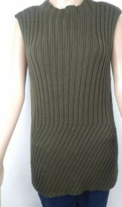 Jennifer Lopez green sleeveless top size xl